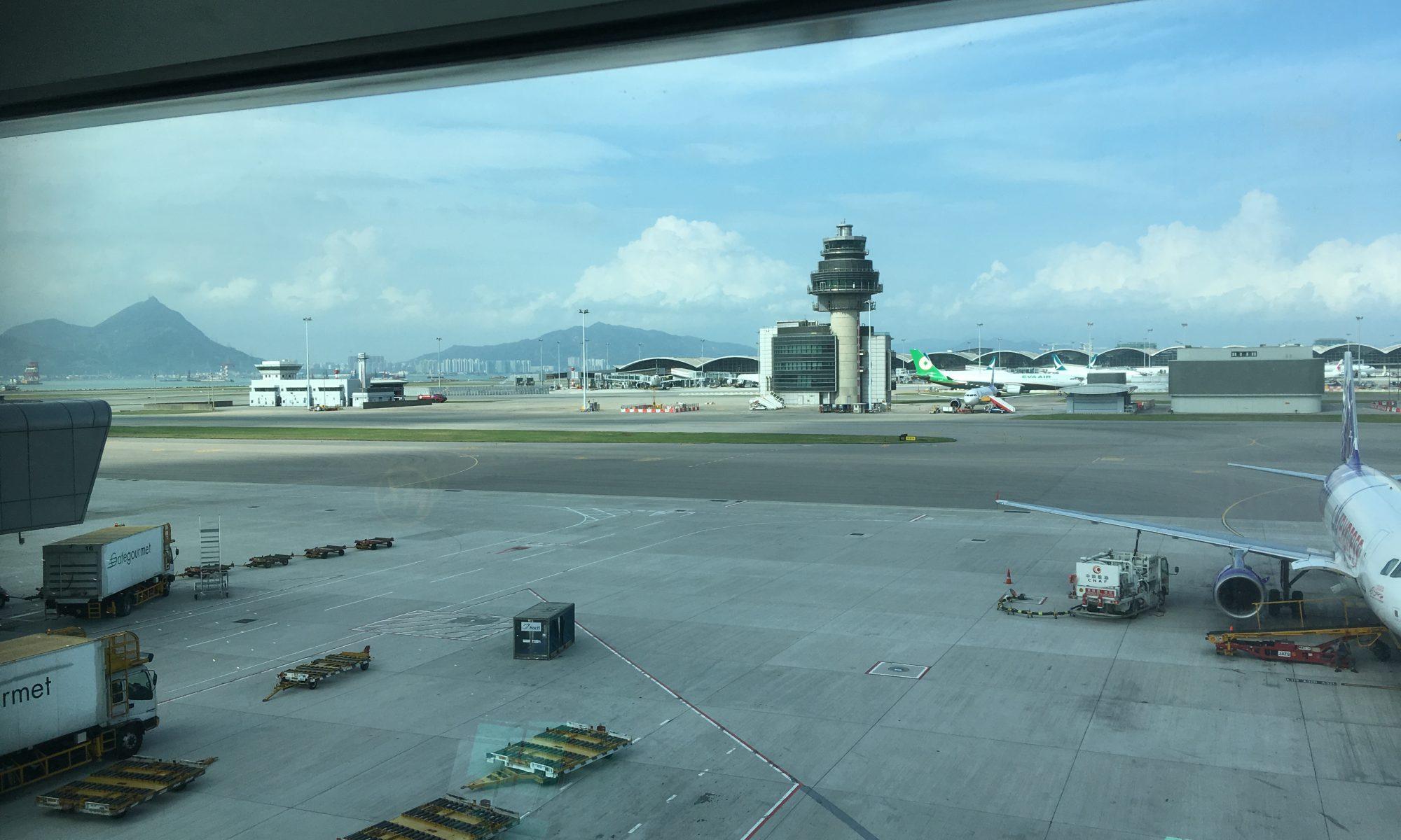 Hong Kong Flughafen