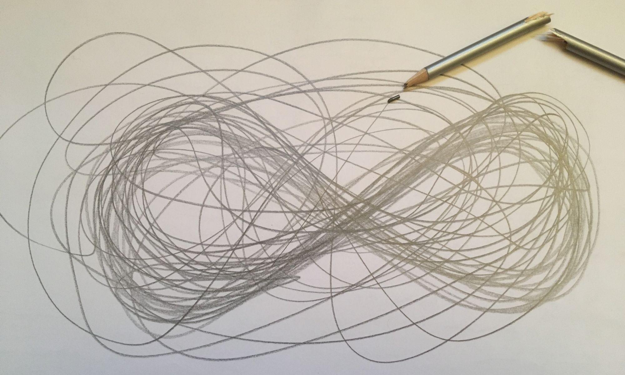 Beziehungsmuster durchbrechen (Bleistiftzeichnung)