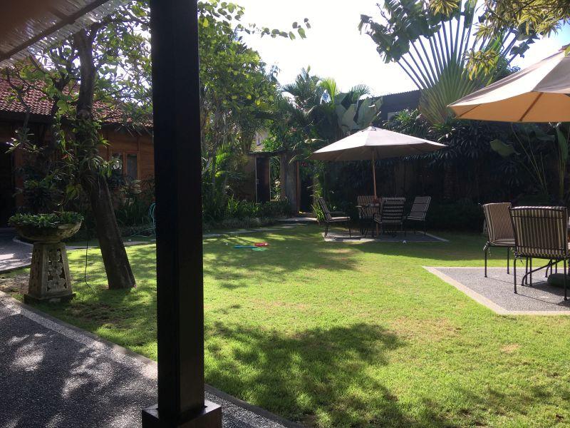 Joglo Villa Außenbereich