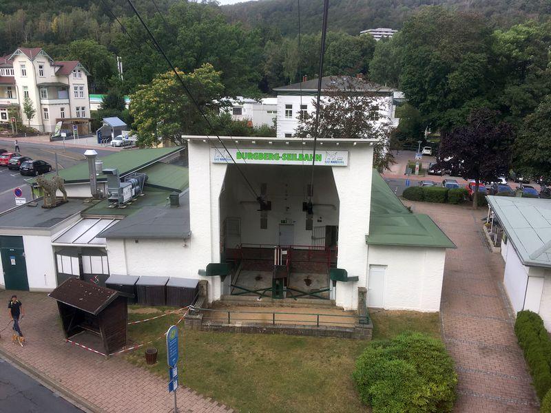 Bad Harzburg - Seilbahn zum Burgberg