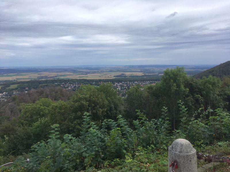 Bad Harzburg - Rundblick vom Burgberg