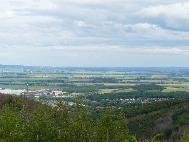 Fingerweg - Blick auf Ilsenburg