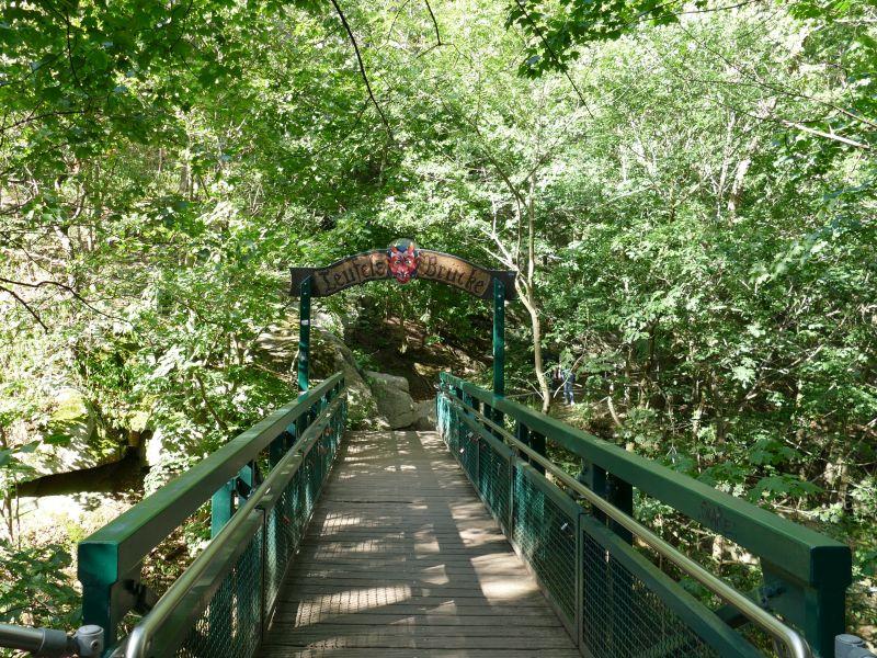 Rückweg nach Thale - Teufelsbrücke