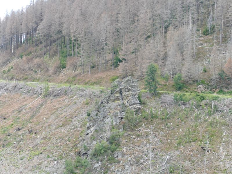 Kellwasser - Blick zur Jungfernklippe