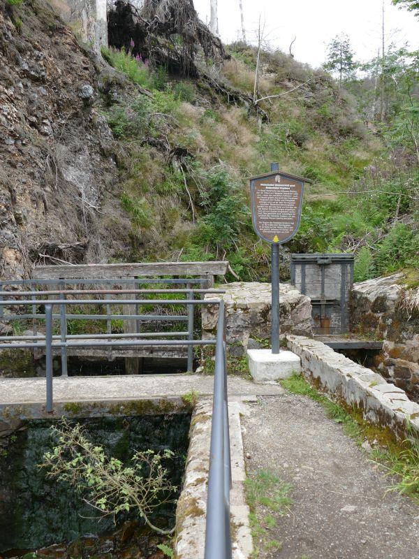 Dammgrabenweg - Nabenthaler Wasserfall