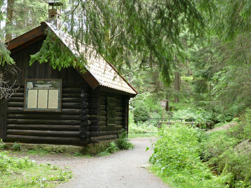 Kleine Oker - Schutzhütte