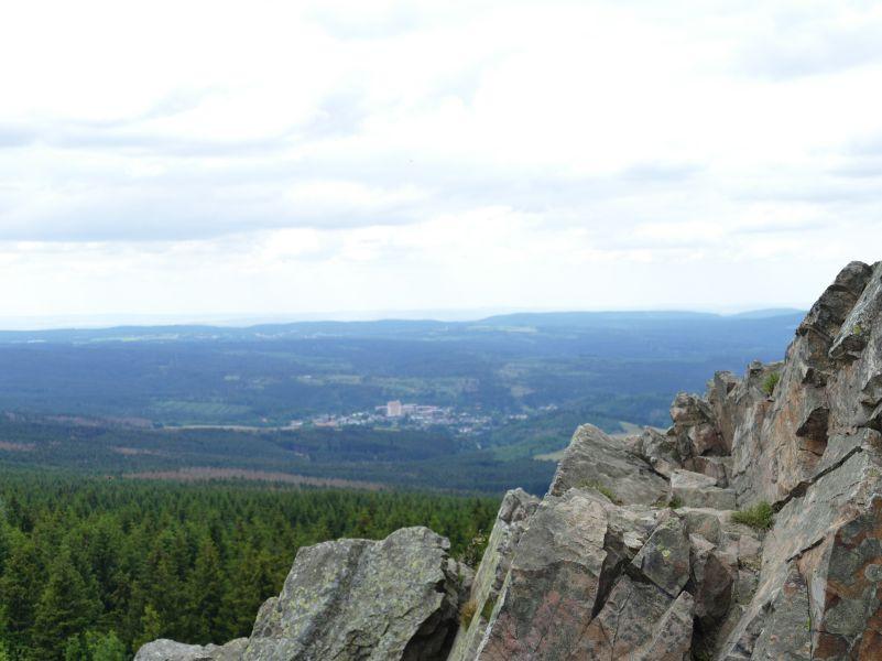 Wolfswarte - Blick auf Altenau